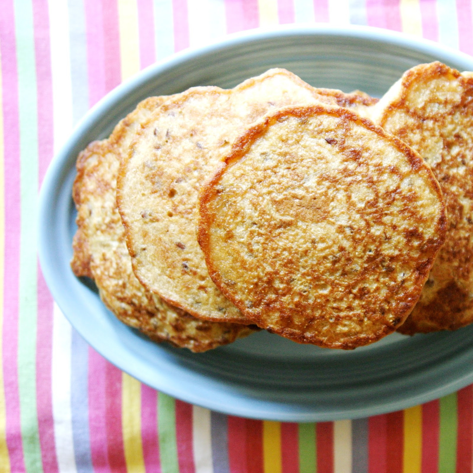 Healthy Cornmeal Pancakes  Golden Cornmeal Weekend Pancakes