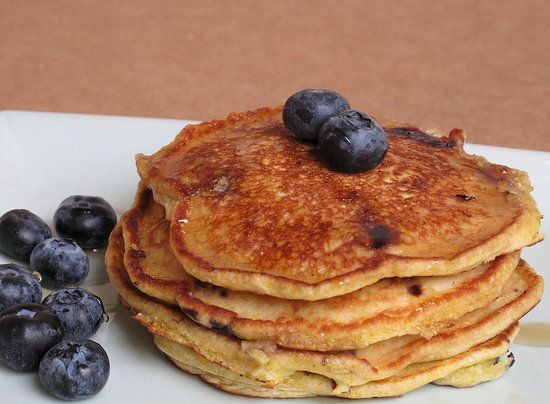 Healthy Cornmeal Pancakes  7 best Griddle Breakfast Recipes images on Pinterest