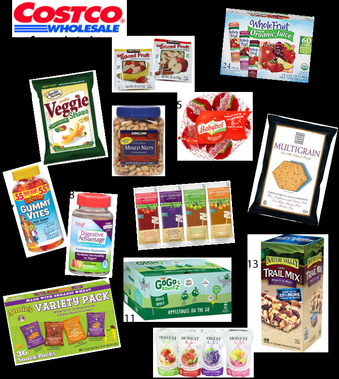 Healthy Costco Snacks  Costco Picks for Kids EAT Pinterest