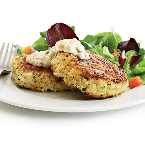 Healthy Crab Cakes  Recipe Makeovers Crab Cakes 16 Restaurant Dishes Made