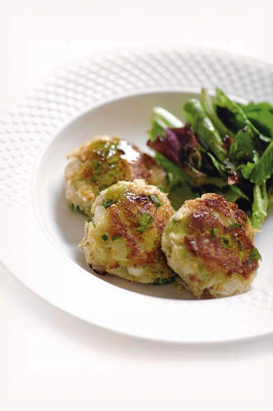 Healthy Crab Cakes  Healthy Recipe East Meets West Crab Cakes