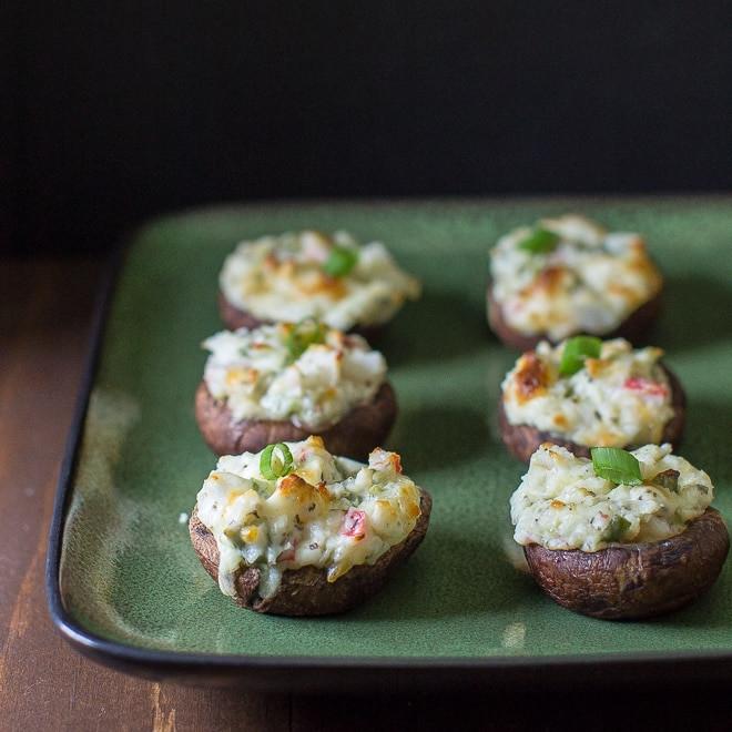 Healthy Crab Stuffed Portobello Mushroom Recipes  crab stuffed mushrooms healthy
