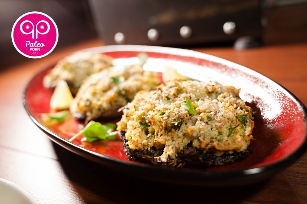 Healthy Crab Stuffed Portobello Mushroom Recipes  Paleo Crab Stuffed Portobello Mushrooms Paleo Porn