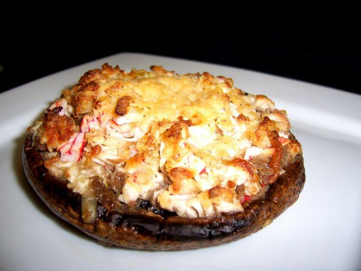 Healthy Crab Stuffed Portobello Mushroom Recipes  17 Best ideas about Stuffed Portobello Mushrooms on
