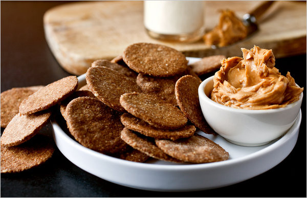 Healthy Cracker Snacks  Homemade Whole Grain Crackers