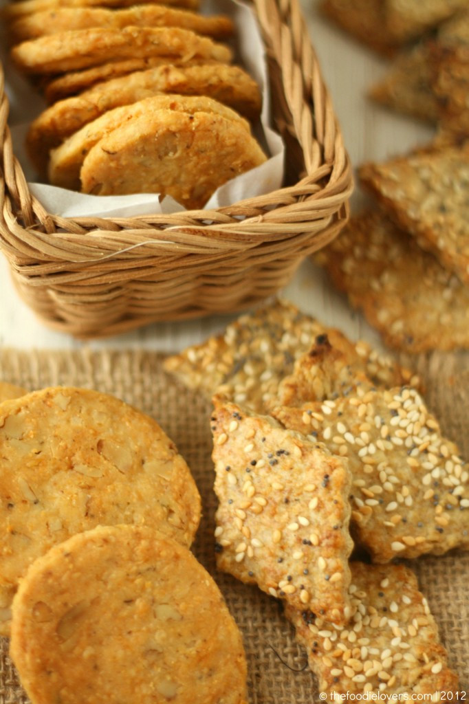 Healthy Cracker Snacks  Health Crackers and Cheddar Oregano – Walnut Icebox