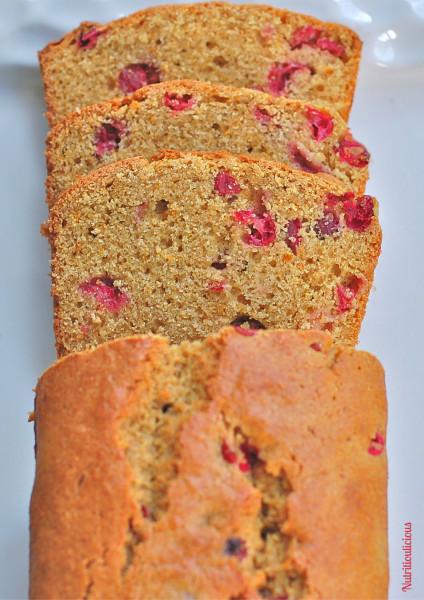 Healthy Cranberry Bread  Cranberry Orange Bread Whole Grain Dairy Free Nut Free