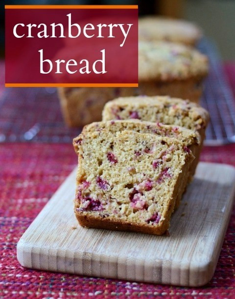Healthy Cranberry Bread  Cranberry Bread Healthy Recipe from Real Food Real Deals