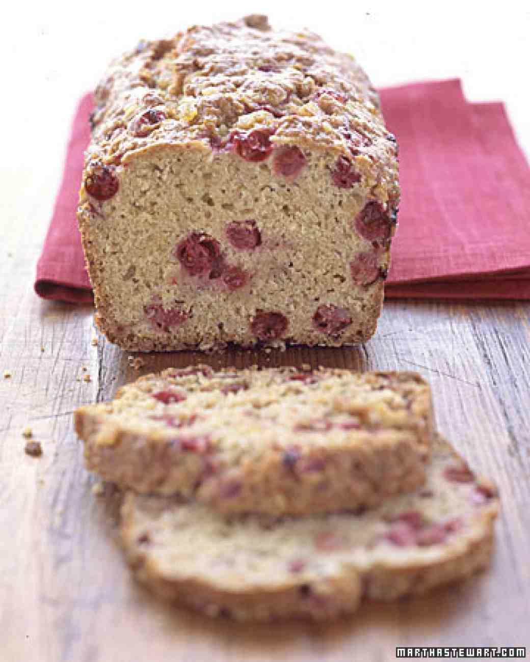 Healthy Cranberry Bread  Cranberry Tea Bread Recipe