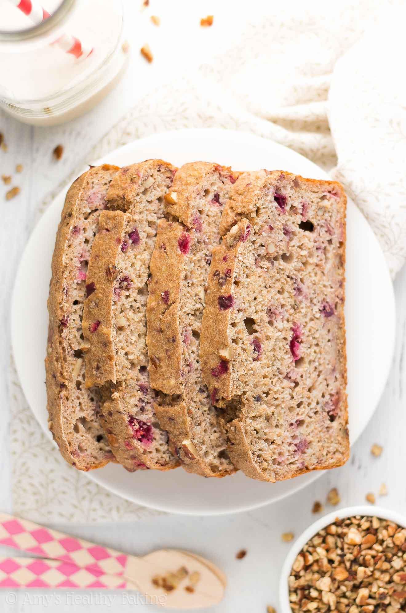 Healthy Cranberry Bread  healthy cranberry bread recipe