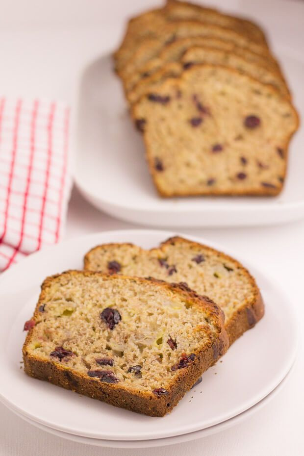 Healthy Cranberry Bread  Cranberry Banana Bread Neils Healthy Meals