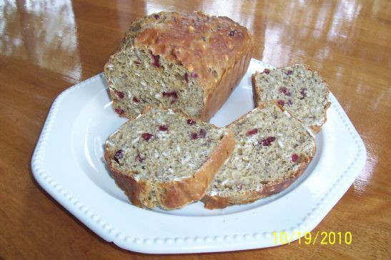 Healthy Cranberry Orange Bread  Healthy Cranberry Orange Bread Recipe