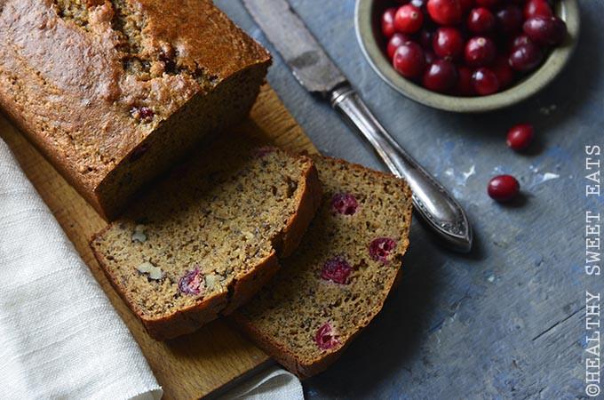 Healthy Cranberry Orange Bread  Paleo Cranberry Orange Walnut Bread Recipe