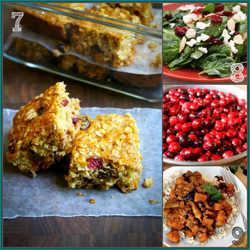 Healthy Cranberry Recipes  20 healthy cranberry recipes Healthy Seasonal Recipes