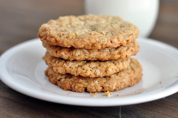 Healthy Crispy Oatmeal Cookies the Best Healthy Rolled Oats Oatmeal Nut Cookies