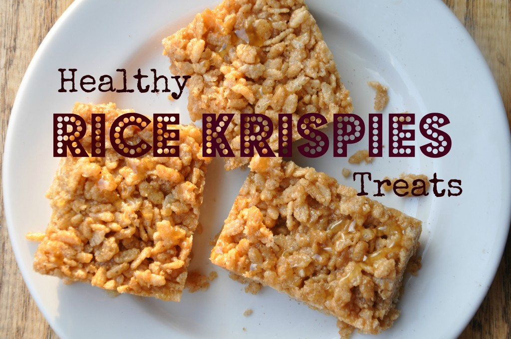 Healthy Crispy Snacks  Rice Krispies Treats Kid Friendly Be Well With Arielle