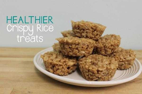 Healthy Crispy Snacks  Healthier Crispy Rice Treats Mama Papa Bubba