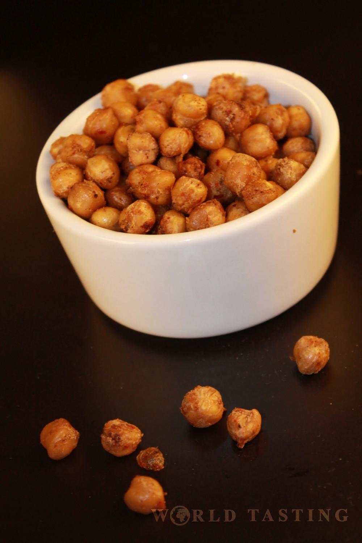 Healthy Crispy Snacks  Healthy Snacks Spicy Crispy Chickpeas WorldTasting