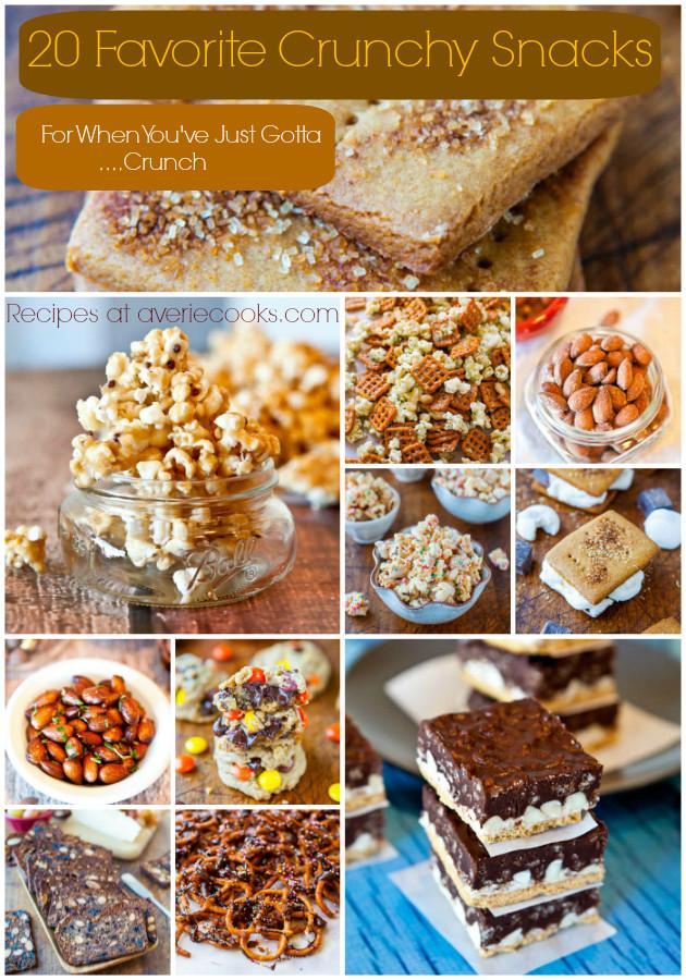 Healthy Crispy Snacks  20 Favorite Crunchy Snacks and Healthy Chips Maker