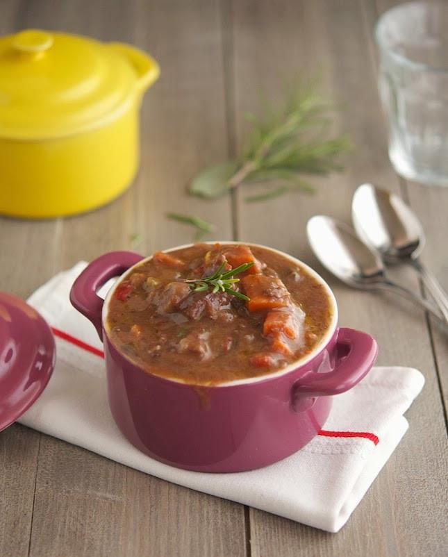 Healthy Crock Pot Beef Stew  The Iron You Crock Pot Italian Beef Stew