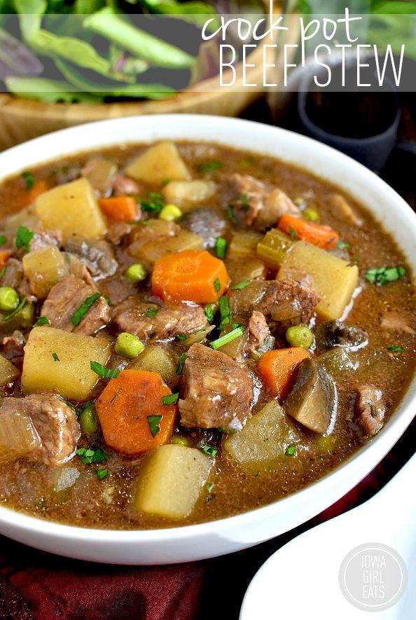 Healthy Crock Pot Beef Stew  Crock Pot Beef Stew Recipe