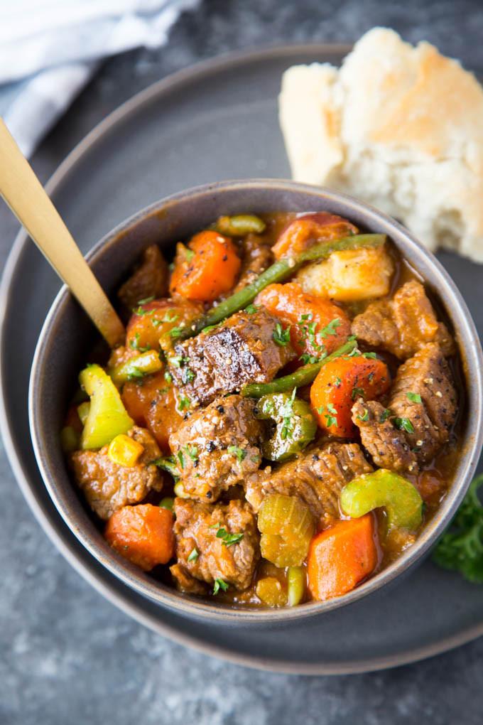 Healthy Crock Pot Beef Stew  healthy crockpot beef stew