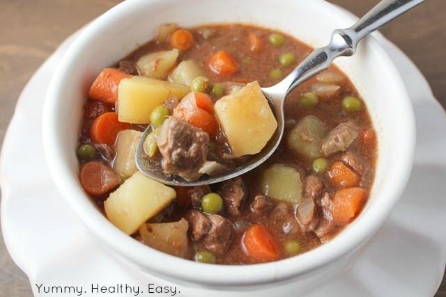 Healthy Crock Pot Beef Stew  Simple & Delicious Crock Pot Beef Stew Yummy Healthy Easy