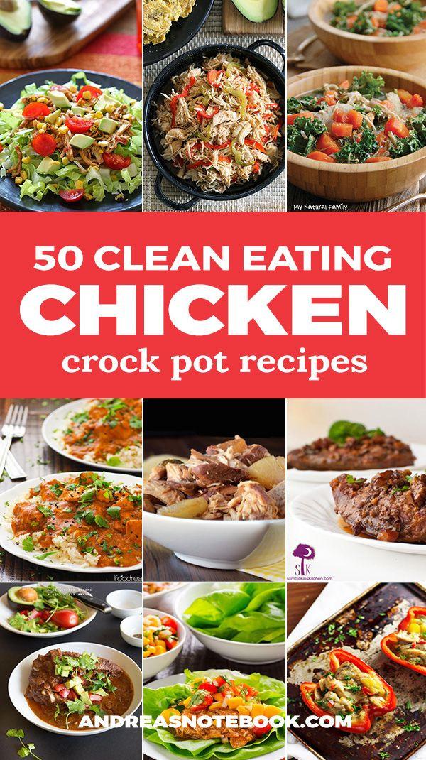 Healthy Crock Pot Dinners  Best 25 Crockpot healthy recipes clean eating ideas on