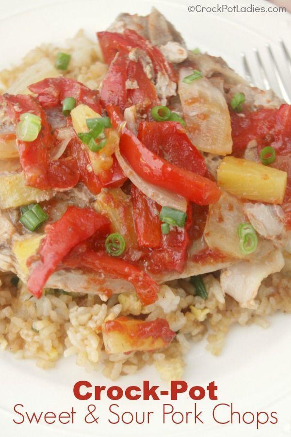Healthy Crock Pot Pork Chops  best images about Best Slow Cooker Recipes on