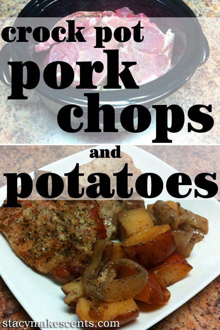 Healthy Crock Pot Pork Chops  Crock Pot Pork Chops and Potatoes from Get Crocking