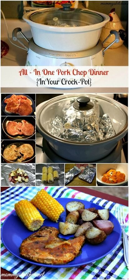 Healthy Crock Pot Pork Chops  42 best images about Crock Pot Pork Chop Recipes on Pinterest