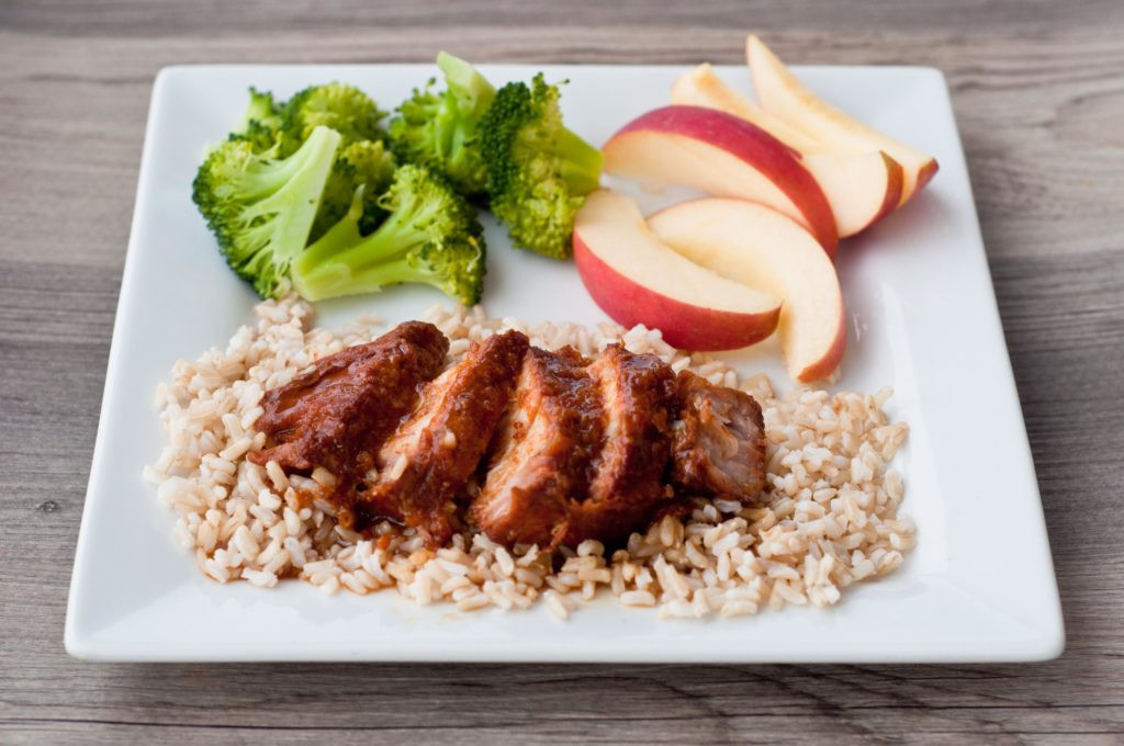 Healthy Crock Pot Pork Chops  Crockpot Teriyaki Apricot Pork Chops