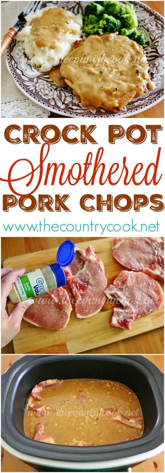 Healthy Crock Pot Pork Chops  17 images about crockpot reciepes on Pinterest