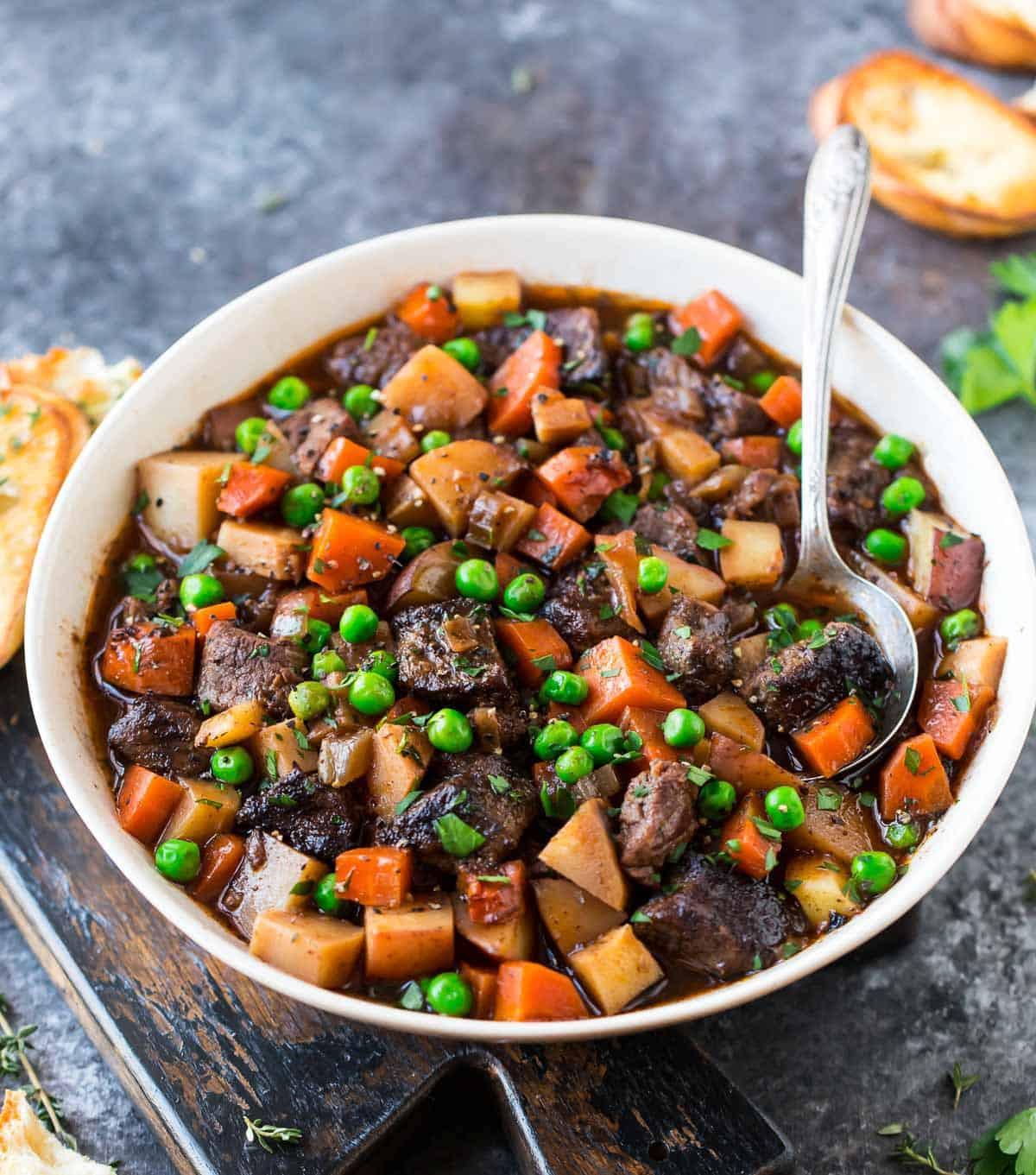 Healthy Crock Pot Recipes With Ground Beef  Crock Pot Beef Stew Recipe