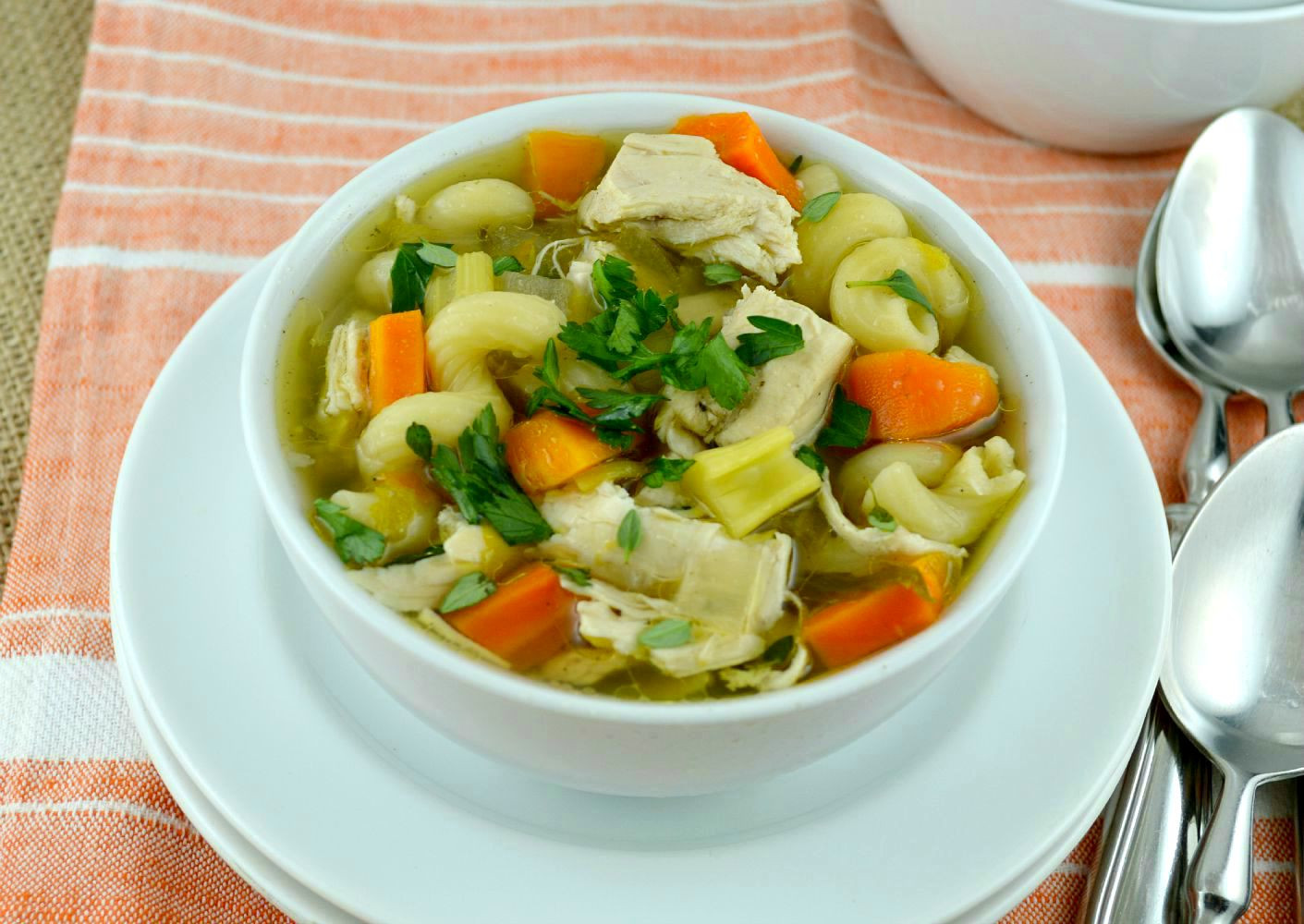 Healthy Crockpot Chicken Noodle Soup  Crock Pot Chicken Noodle Soup Gonna Want Seconds