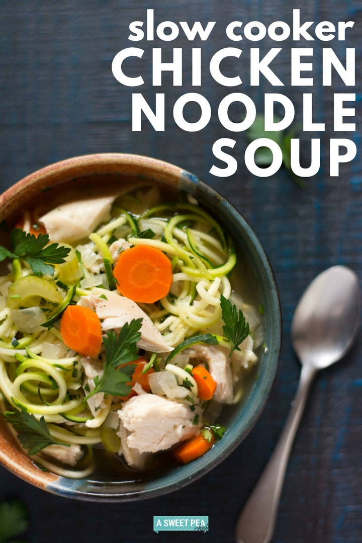 Healthy Crockpot Chicken Noodle Soup  Slow Cooker Chicken Noodle Soup A Healthy Meal Option