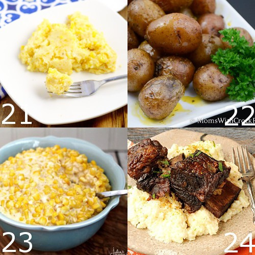 Healthy Crockpot Side Dishes  Easy crock pot ve able side dish recipes Food easy recipes