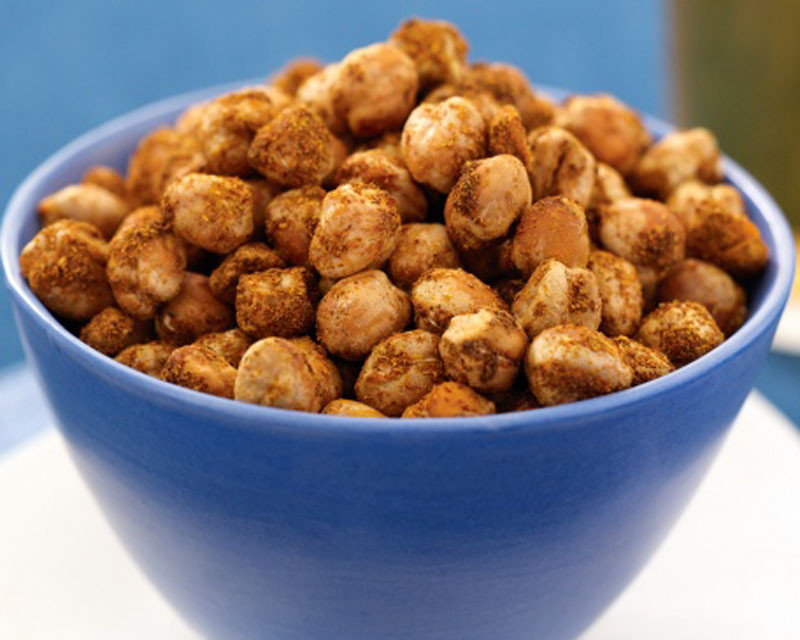 Healthy Crunchy Snacks  Crunchy Baked Chickpea Snack