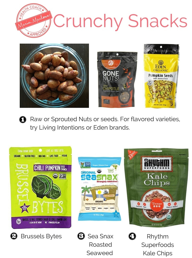 Healthy Crunchy Snacks  22 Healthy Snack Ideas