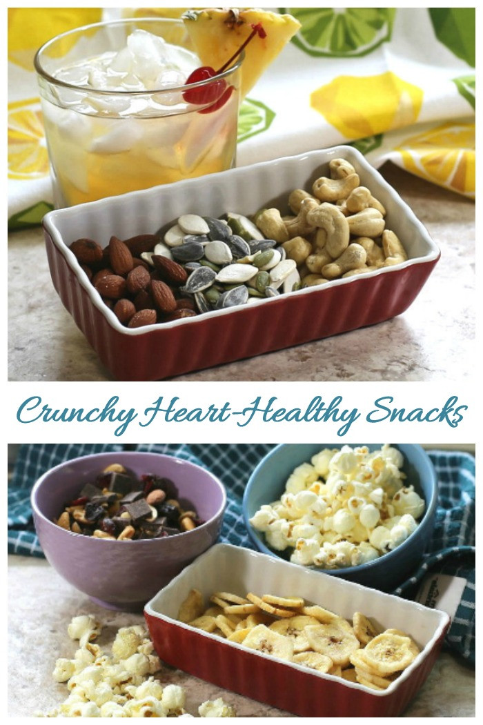 Healthy Crunchy Snacks  30 Heart Healthy Snacks Food Replacements for a