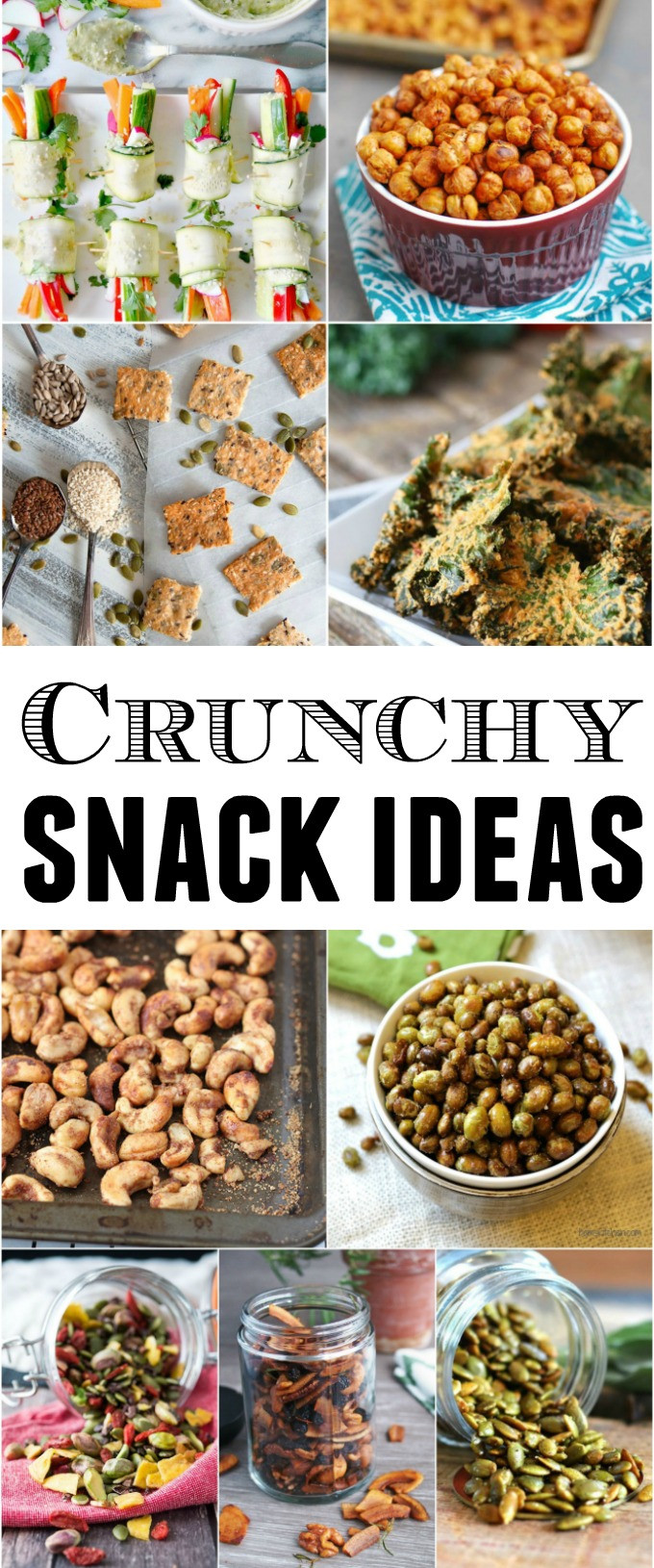 Healthy Crunchy Snacks  9 Healthy Crunchy Snacks