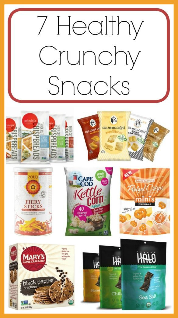 Healthy Crunchy Snacks  211 best images about Healthy Habit Recipes on Pinterest