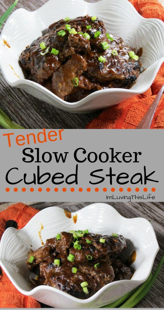 Healthy Cube Steak Slow Cooker Recipes  Best 25 Cube steak recipes ideas on Pinterest