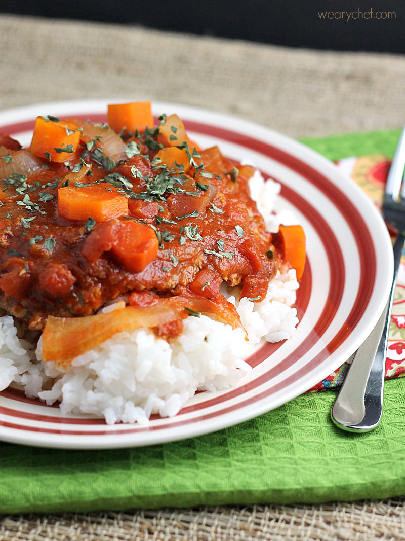 Healthy Cube Steak Slow Cooker Recipes  slow cooker cube steak with tomatoes