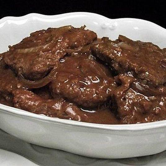 Healthy Cube Steak Slow Cooker Recipes  Mouthwatering Crock Pot Cube Steaks Recipe