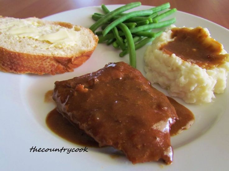 Healthy Cube Steak Slow Cooker Recipes  Slow Cooker Cube Steak with Gravy