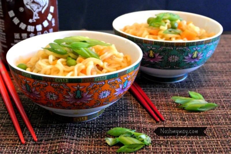 Healthy Cup Noodles  Ramen Noodles Healthier Recipe
