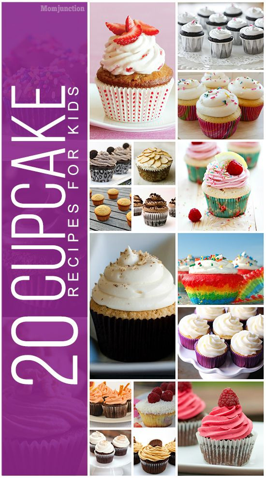 Healthy Cupcakes For Kids  Best 25 Cupcake recipes for kids ideas on Pinterest