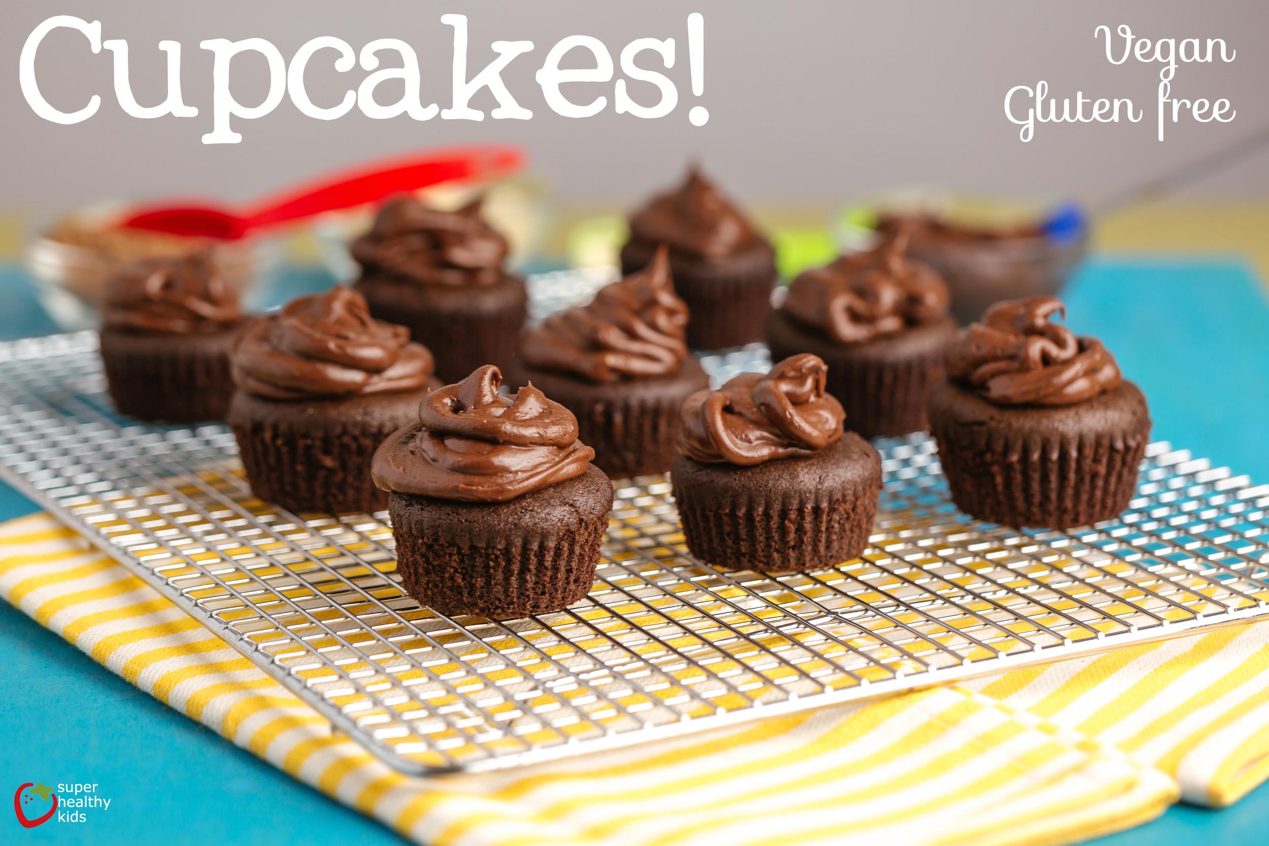 Healthy Cupcakes For Kids  Vegan Gluten Free Cupcake Recipe