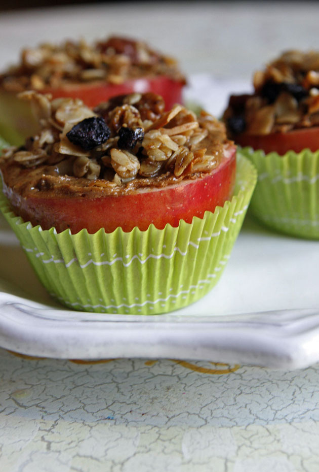 """Healthy Cupcakes For Kids  Apple """"Cupcake"""""""